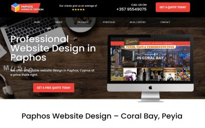 Paphos Web Design – New Website Live
