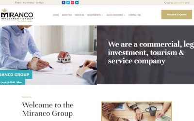 New Website Build – Miranco Group