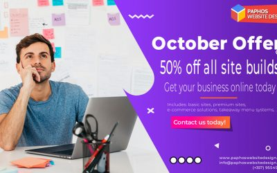 Cyprus Web Design – 50% OFF in Oct 2020