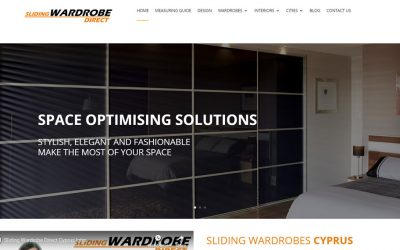 New Website Build – Sliding Wardrobes Direct