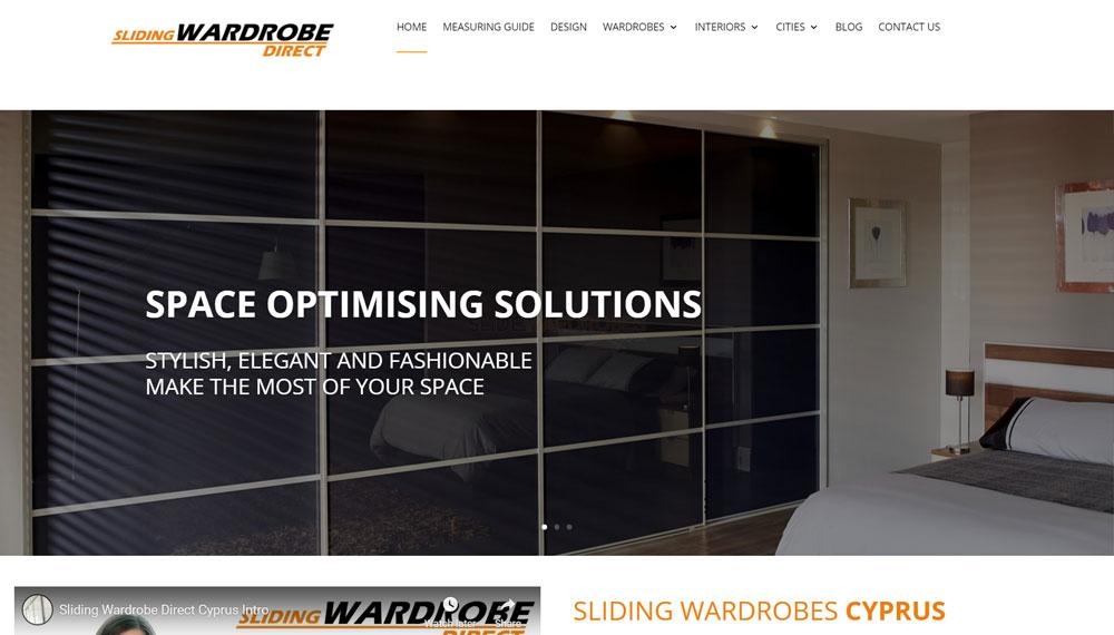 New Website Build – Sliding Wardrobes Direct
