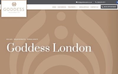 New Website – Goddess Salon London