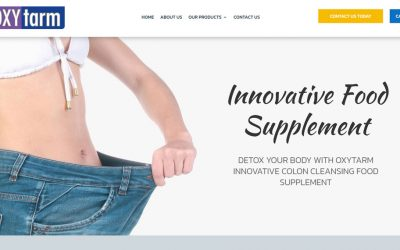 New Website – Oxytarm UK
