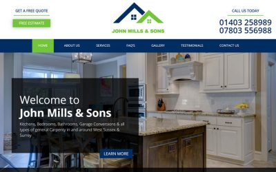 New Website – John Mills & Sons
