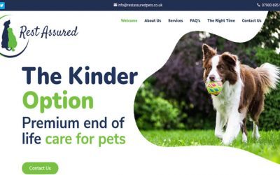 New Website – Rest Assured Pets