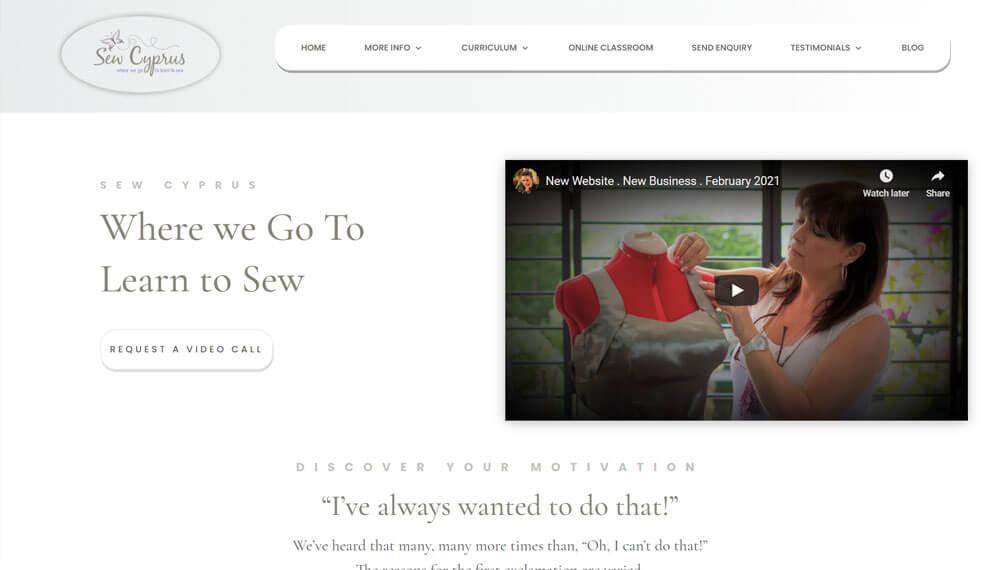 New Website – Sew Cyprus