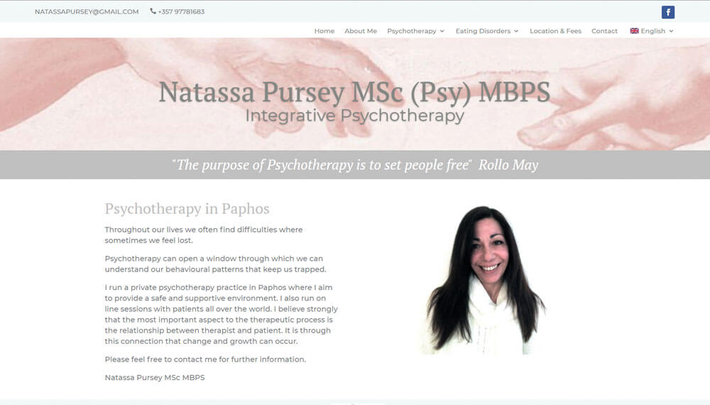 New Website – Paphos Psychotherapy